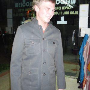 Gray Color Blazer for Men