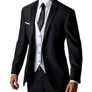 Men Jacket Classic Style Black