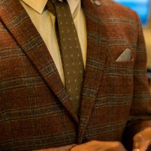 Men Jacket Brown Color